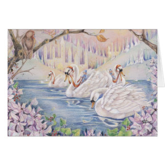 Winter Fairyland Card