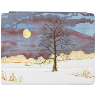 Winter Field iPad Smart Cover