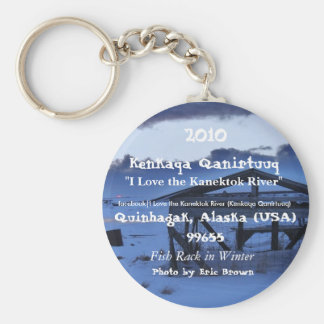 winter fish rack, Fish Rack in Winter, facebook... Basic Round Button Key Ring