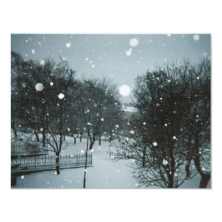Winter Flakes Card