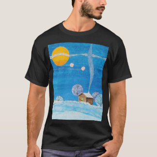 Winter Floats Artistic T-Shirt