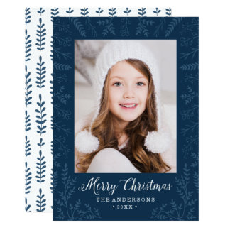 Winter Flourish | Holiday Photo Card