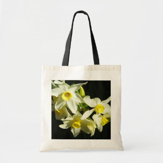 Winter Flowers Budget Tote Bag