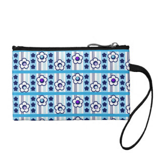 Winter Flowers Coin Purse