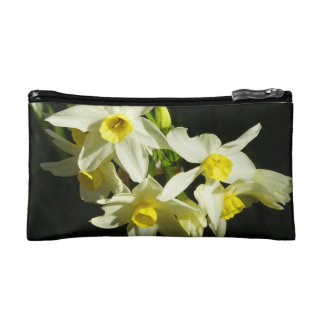 Winter Flowers double-sided Makeup Bag