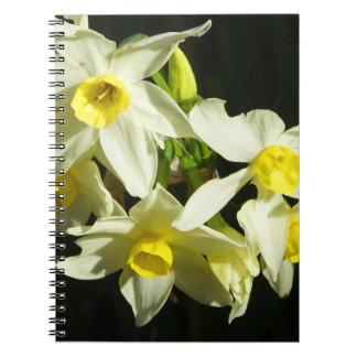 Winter Flowers Notebooks