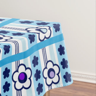 Winter Flowers Tablecloth