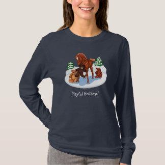 Winter Foal and Teddy Bears shirt