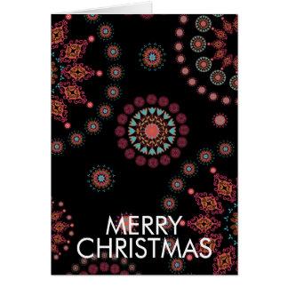 WINTER FOLKSY CHRISTMAS CARD