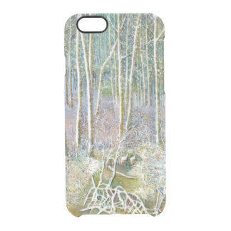 winter forest clear iPhone 6/6S case