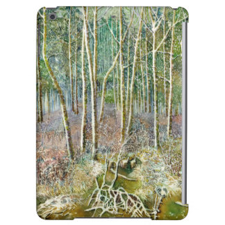 winter forest iPad air case