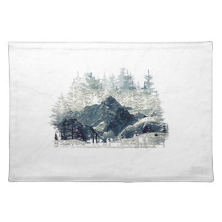 Winter Forest Placemat