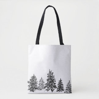 Winter Forest Tote