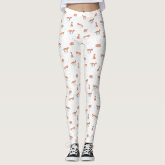 Winter Fox Leggings