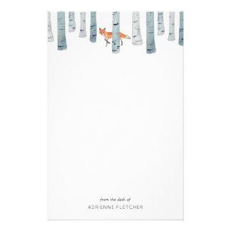 Winter Fox Stationery