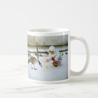 Winter Friends Classic White Coffee Mug
