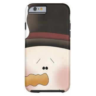 Winter Friends snowman Tough iPhone 6 Case