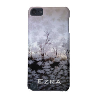 Winter Frost iPod Touch Speck Case - Custom Name