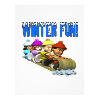 Winter Fun 2 Full Color Flyer
