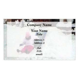 Winter Fun Business Card