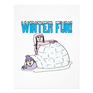 Winter Fun Flyers