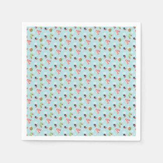 Winter Fun Pattern Paper Napkin