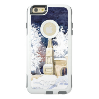 Winter gate at night OtterBox iPhone 6/6s plus case