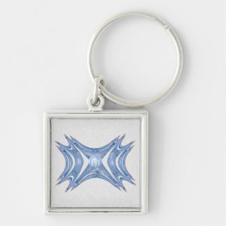 Winter Gates Abstract Art Key Chains