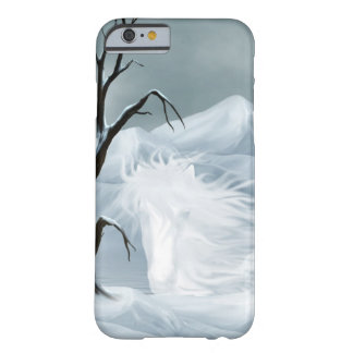 Winter ghost horse barely there iPhone 6 case