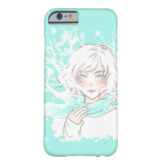 Winter girl barely there iPhone 6 case