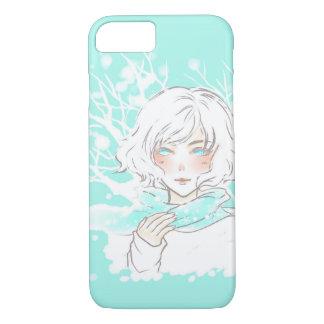 Winter girl iPhone 7 case