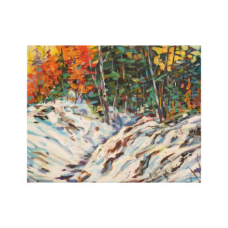 Winter Glow Stretched Canvas Prints