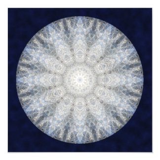 Winter Goddess Mandala Art Card