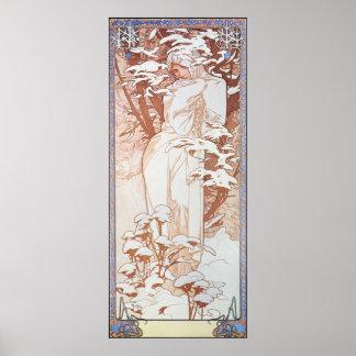 Winter Goddess Poster
