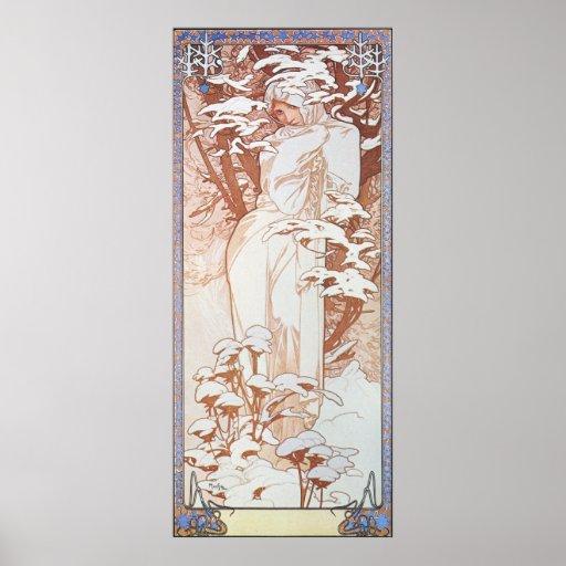 Winter Goddess Posters