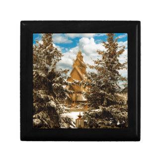Winter Gol Church Minot North Dakota Gift Box