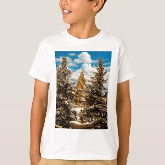 Winter Gol Church Minot North Dakota T-Shirt
