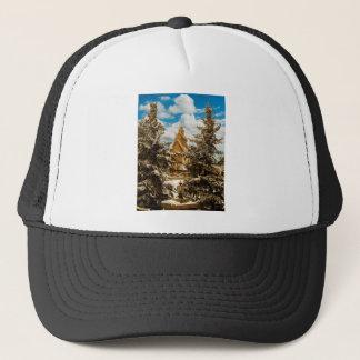 Winter Gol Church Minot North Dakota Trucker Hat