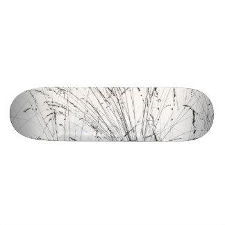 Winter Grass In Snow Skate Boards