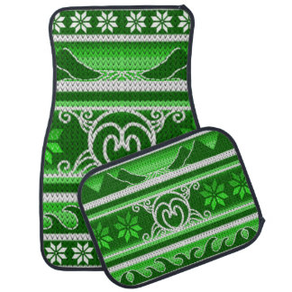 Winter Green Nordic Design Car Mat