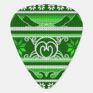 Winter Green Nordic Design Plectrum