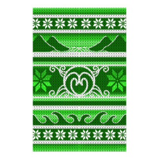 Winter Green Nordic Design Stationery
