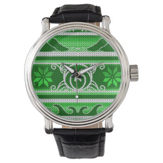 Winter Green Nordic Design Watch