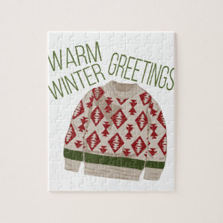 Winter Greetings Puzzle