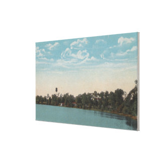 Winter Haven, Florida - Water View of Spring Canvas Print
