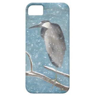 Winter Heron Barely There iPhone 5 Case