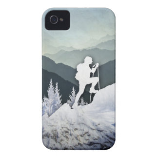 Winter Hike iPhone 4 Case-Mate Cases