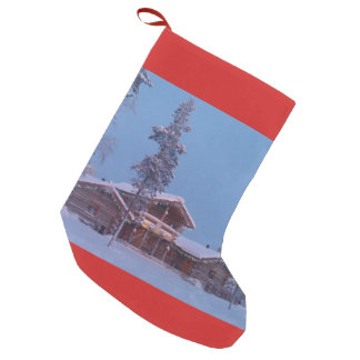 Winter Holiday in Lapland, Christmas Stocking