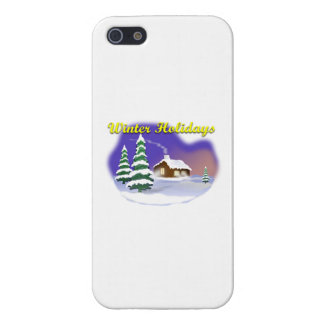 Winter Holidays iPhone 5/5S Case