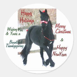 Winter Holidays Sticker